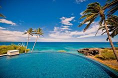 Infinity Pool - Hapuna Beach estate rental