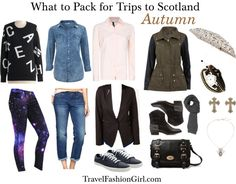 What to Pack for Trips to Scotland in AUTUMN via TravelFashionGirl.com #travel #fashion #packing #list