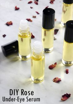 DIY Rose UnderEye Serum Soap Queen is part of Diy eye cream - Make your own luxurious undereye serum with rosehip seed oil, primrose extract, jojoba oil and vitamin e oil It instantly hydrates the undereye area Homemade Skin Care, Homemade Beauty Products, Diy Skin Care, Homemade Face Wash, Homemade Eye Cream, Homemade Lip Balm, Beauty Care, Beauty Skin, Beauty Hacks