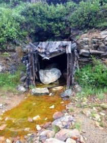 Abandoned Mine Shaft in Arapaho National Forest Colorado - Photorator