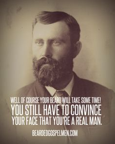 You still have to convince your face...#beard #men