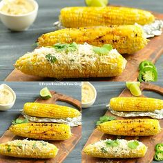 Learn how to grill corn on the cob using aluminum foil and get the ultimate summer recipe: Grilled Corn with Jalapeno-Lime Aioli and Parmesan Cheese...Mmmm!!!