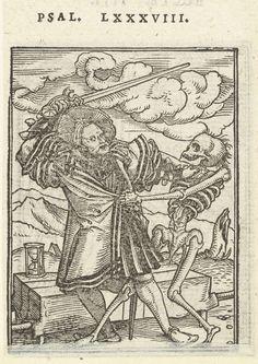 Edelman en de Dood, Hans Holbein (II), Hans Lützelburger, 1524 - 1526