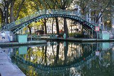 pont canal saint martin paris