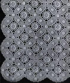 NEW! Wedding Ring Bedspread crochet pattern from Bucilla Cottons Banquet Cloth & Bedspread Creations, Bernhard Ulmann Volume No. 106 from 1935.