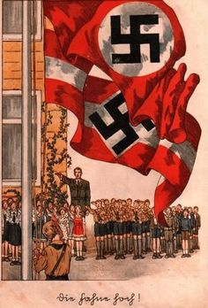 """German WW2 """"Hitler Youth"""" They gave their pledge & allegiance to the symbol of Nazism, the German Cross. A colossal Fail!"""