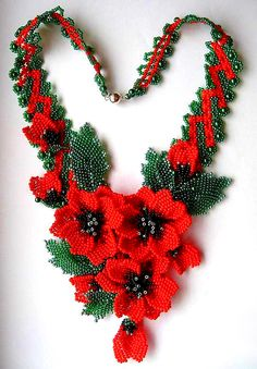 Beautiful jewelry with Poppy elements | Beads Magic