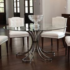 Kitchen and Dining Tables - Seats: 6-8 +, Shape: Round | Wayfair