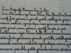 French Cursive - Calligraphy Discussions - The Fountain Pen Network
