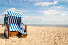 Strandkorb am meer  Poster Strandkorb am Meer | Strandkorb und Poster