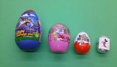 Surprise Eggs! Large and Small Surprise Eggs Opening