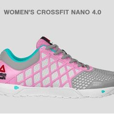 CrossFitters, rejoice: you can order your first-ever customized @Reebok #Crossfit Nano 4.0s online! Look how cute @Jenna Walters's are! #Padgram