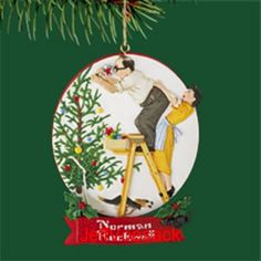 102 best Norman Rockwell Ornaments images on Pinterest   Norman ...