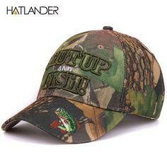 0f390af88a5 Caps summer sun fishing hat sport Embroidery 3D letter Fish baseball cap men
