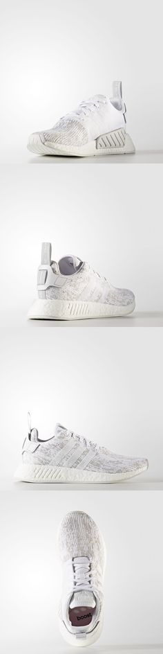 84ee034fbab11 Shoes · Women 158953  Women S Nmd R2 W White By8691 Adidas Primeknit Ftw  Grey Two -