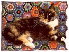 Motley is my favourite of all the cats painted by Lesley Anne Ivory.