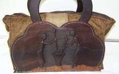 African handbag, one of its kind. Out Of Africa, Wedding Book, Leather Backpack, African, Backpacks, Summer, Gifts, Clothes, Bag