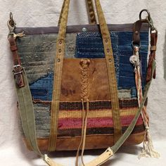 A very special custom bag for someone very special. Reaching out across the sea, we can be touched in ways that inspire great work - A very special custom bag for someone very special. Reaching out across the sea, we can be touched - Patchwork Bags, Quilted Bag, Tote Purse, Tote Handbags, Leather Handbags, Crossbody Bag, My Bags, Purses And Bags, Jean Purses