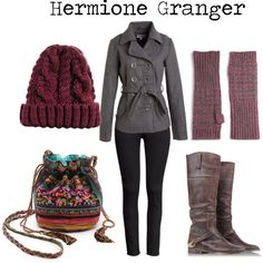 Hermione granger style 3 harry potter in 2019 гарри поттер, Harry Potter Mode, Harry Potter Dress, Harry Potter Cosplay, Harry Potter Style, Harry Potter Outfits, Character Inspired Outfits, Disney Inspired Outfits, Themed Outfits, Harry Potter Kleidung
