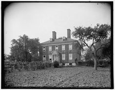 Ridout Mansion. My GGGGG (possibly one more G) Grandfather Thomas Ridout's half-brother's (John Ridout) house in Annapolis, MD. Annapolis was Thomas's first stop in the States after emigrating from Sherborne, England, and before Toronto.