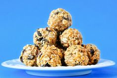 These oatmeal raisin energy bites are perfect on the go. They are plant-based and packed with healthy ingredients.