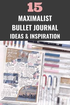 GET THE PERFECT MESSY SCRAPBOOK LOOK IN YOUR BULLET JOURNAL. IF YOU HAVE BEEN DROOLING OVER TRAVEL JOURNALS THEN YOU NEED TO SEE THIS! Click to read more. Monthly Bullet Journal Layout, Bullet Journal Mood Tracker Ideas, January Bullet Journal, Bullet Journal Quotes, Bullet Journal How To Start A, Bullet Journal Notebook, Bullet Journal Themes, Bullet Journal Spread, Bullet Journal Inspiration