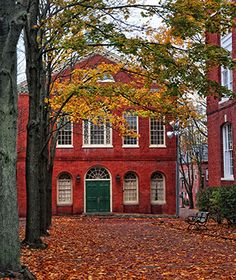 One of America's Best Towns for Fall Colors: Salem, MA