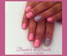 Love me...baby! #nailart #nails #nailswag #nailsalon #kalamaria #skg #thessaloniki #beautysalon #beauty #naildesign #nailpolish #boudoirdebeaute #boudoir_de_beaute #manicure #nails_greece #nailsoftheday #nailporn #nailaddict #love #pink