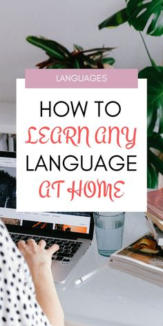 How to learn any language at home+ FREE PRINTABLE. Here I share tips to learn any language at home. Language Learning Websites, Learning Languages Tips, Russian Language Learning, Language Study, Learn A New Language, Teaching Spanish, German Language, Learn Languages, Spanish Activities