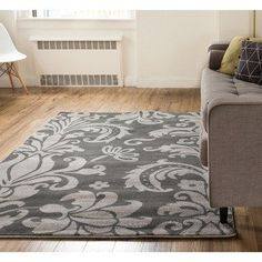 Nadine Rug Featuring A Damask Motif Find This And More At