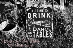 It's Time to Drink Champagne and Dance on by MyPrimitiveBoutique, $69.00