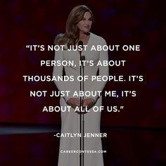 You rock @caitlynjenner #ESPYs #translivesmatter #espys