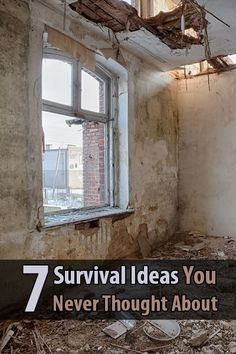 I really enjoyed this article I found on Suburban Steader. The author lists 7 survival ideas that might not have occurred to you.