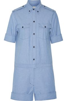 Wei Cotton-Chambray Playsuit