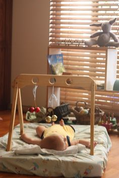 bare feet and a free spirit: making a babies wooden toy bar