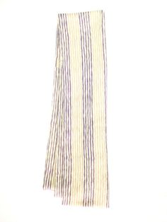 【Straight scarf Purple,Pink Stripes  | #MegumiProject】 #Upcycled #RestoringBeauty #アップサイクル #めぐみプロジェクト #東北