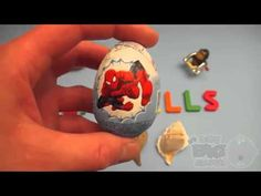 Spider-Man Surprise Egg Learn-A-Word! Spelling Outdoor Words! Lesson 19