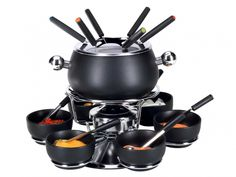 Nouvel Meat Fondue Set Pina - buy now. # 401510 Fondue pan made of stainless ste Espresso Machine, Coffee Maker, Kitchen Appliances, Stuff To Buy, Xmen, Html, Material, Products, Chinese