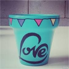 macetas pintadas - Buscar con Google Flower Pot Crafts, Clay Pot Crafts, Diy Crafts, Garden Deco, Garden Pots, Cactus Clipart, Decorated Flower Pots, Unique Gardens, Painted Pots