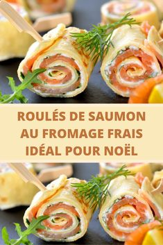 Salmon rolls with cream cheese ideal for Christmas - Page 2 - Bon À Savoi . - Salmon rolls with cream cheese ideal for Christmas – Page 2 – Good To Know - Healthy Meals For One, Healthy Recipes On A Budget, Healthy Recipe Videos, Cooking On A Budget, Healthy Meal Prep, Easy Healthy Dinners, Meals For Two, Budget Meals, Healthy Breakfast Recipes