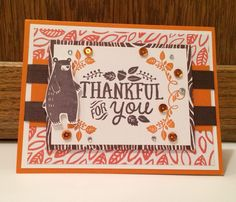 Stampin' Up!, by Kris Dickinson, Fall 2015