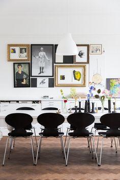 Inspiroiva koti Malmössa - Valkoinen Harmaja | Divaaniblogit