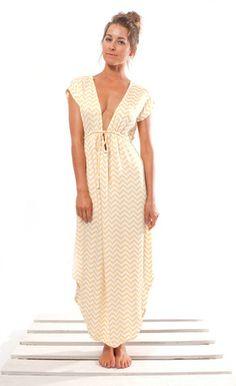 Sand Maxi Kaftan Dress $149