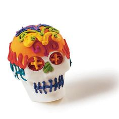 Sugar skulls add color to Day of the Dead - Sunset