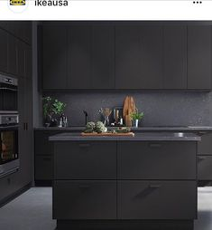 Black And Grey Kitchen Part 62
