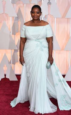 2015 #Oscars: Red Carpet Arrivals Octavia Spencer