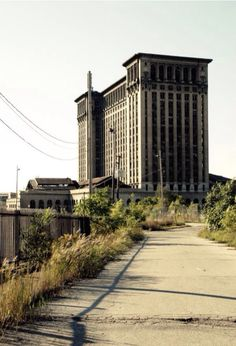 Michigan Central Station, Detroit. Closed in 1988