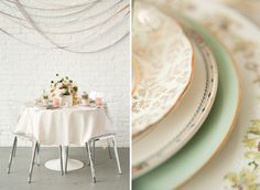 Delicate Glam - Mint and Gold Wedding