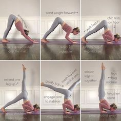 1. Find your Downward Dog. Spread your fingers wide and grip…»