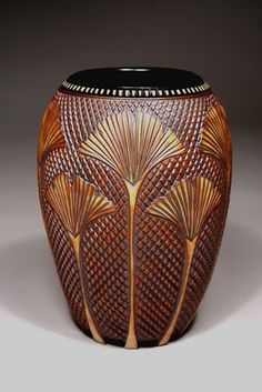 Foxlo (Fox and Lois Garney) Gingko Pottery / The Gallery at the Network